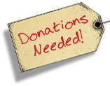 Donated Items Needed