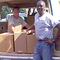 Lilburn Baptist donated more than 100 boxes of food ... thank you!